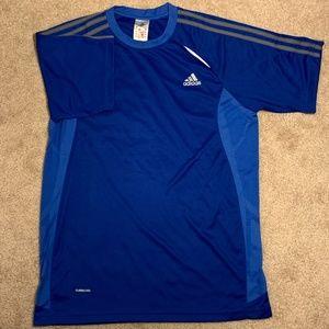 Adidas Clima Cool Sport T-Shirt Blue